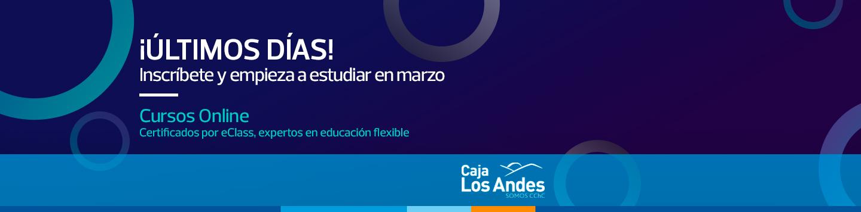 ¡Últimos días! - Inscríbete y empieza a estudiar en marzo - Cursos online certificados por eClass, expertos en educación flexible
