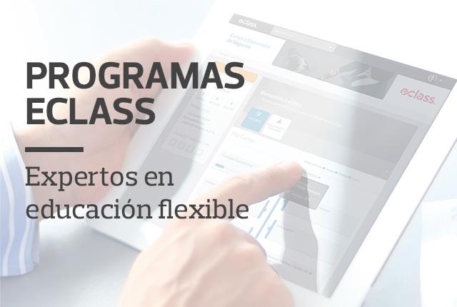 Programas eClass - Expertos en Educación Flexible