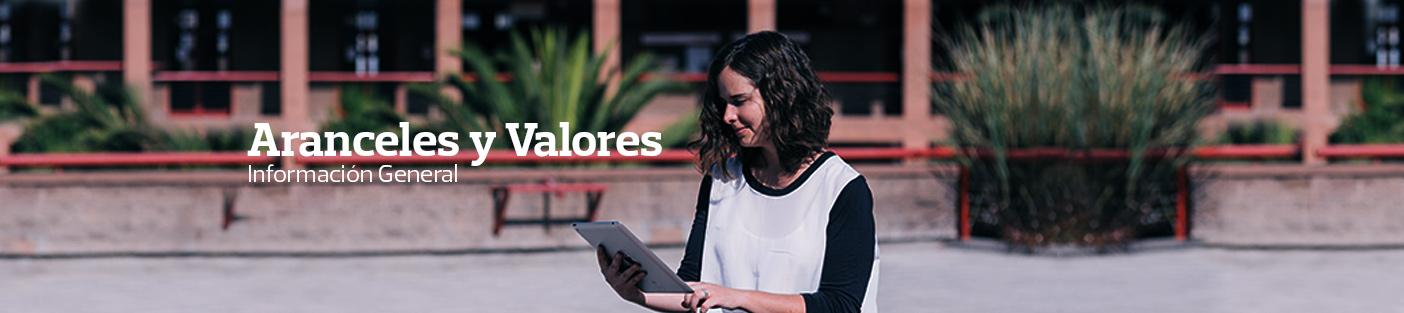 Aranceles y Valores. Información General
