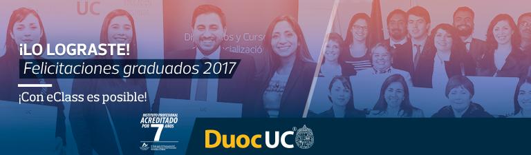 Lo Lograste - Felicitaciones graduados 2017 con eClass es posible