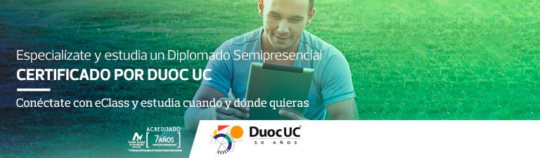 Especialízate con Duoc UC, con eClass es posiblel