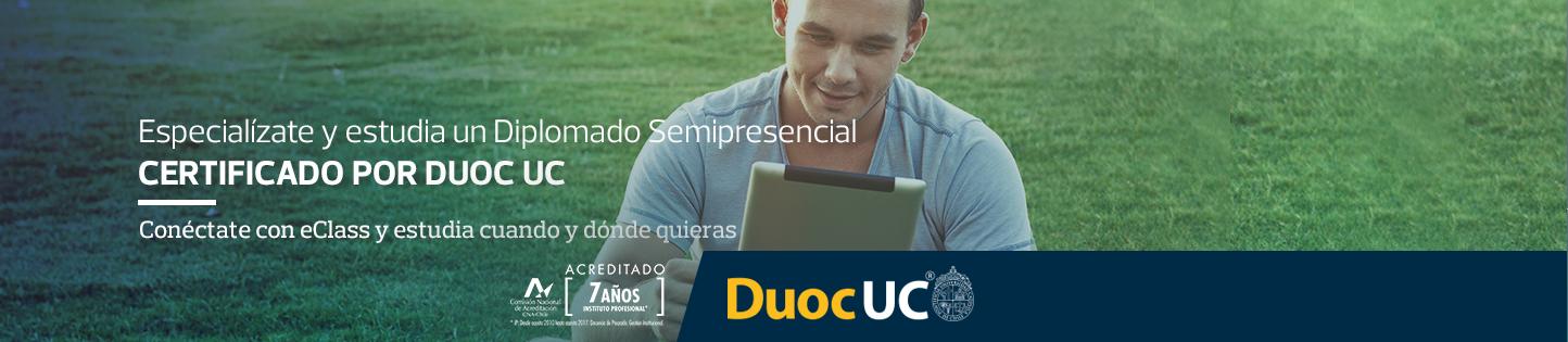 Especialízate con Duoc UC, con eClass es posible