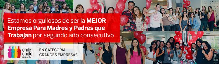 Estamos orgullosos de ser la mejor Empresa para Madres y Padres que Trabajan por segundo año consecutivo