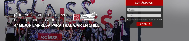 ¡Queremos compartir la alegría de ser reconocidos como la 4ta mejor empresa para trabajar en Chile!