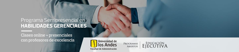 Programa en Estrategia de Ventas y Marketing - Semipresencial de Educación Ejecutiva - Facultad de Administración, Universidad de los Andes