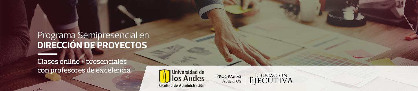 Programas Semipresenciales de Educación Ejecutiva - Estudie con la certificación de la Universidad de los Andes