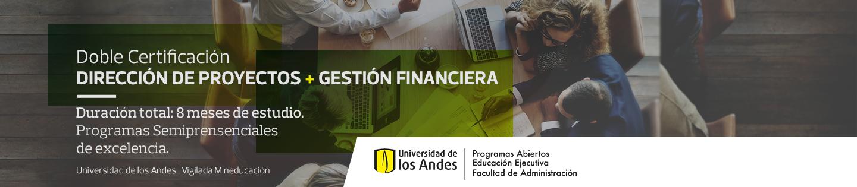 Doble Certificación Dirección de proyectos + Gestión Financiera