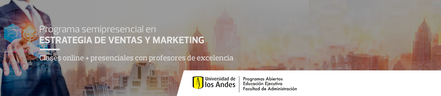 Programa semipresencial en Estrategia de Ventas y Marketing