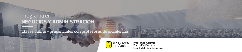 Programa semipresencial en Fundamentos en Administración de Negocios - Clases online + presenciales con  profesores de excelencia