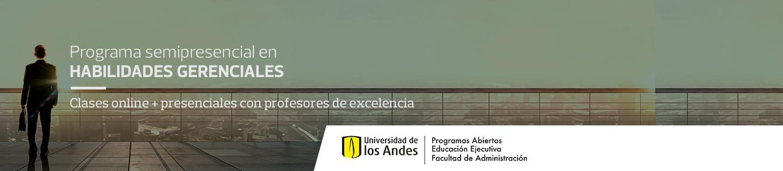 Programa semipresencial en Habilidades Gerenciales - Clases online + presenciales con profesores de excelencia