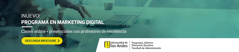 ¡NUEVO! - PROGRAMA EN MARKETING DIGITAL - Clases online + presenciales con profesores de excelencia