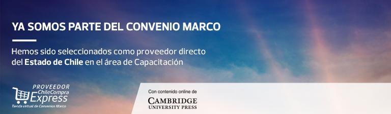 Ya somos parte de Convenio Marco - Hemos sido seleccionados como proveedor directo del Estado de Chile en el área de Capacitación - Creando oportunidades a traves de la educación