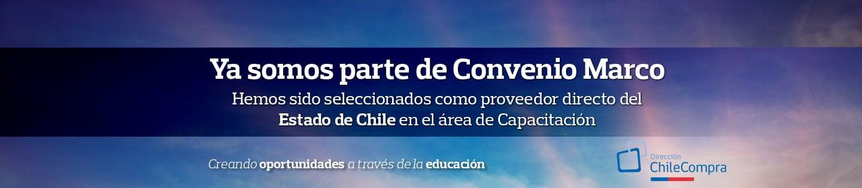 Ya somos parte de Convenio Marco | Hemos sido seleccionados como proveedor directo del Estado de Chile en el área de Capacitación