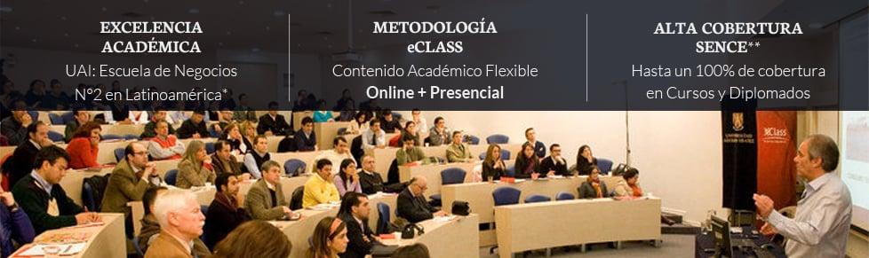 Estudia con la flexibilidad de eClass en la U. Adolfo Ibáñez | Aprende Negocios con los que más saben