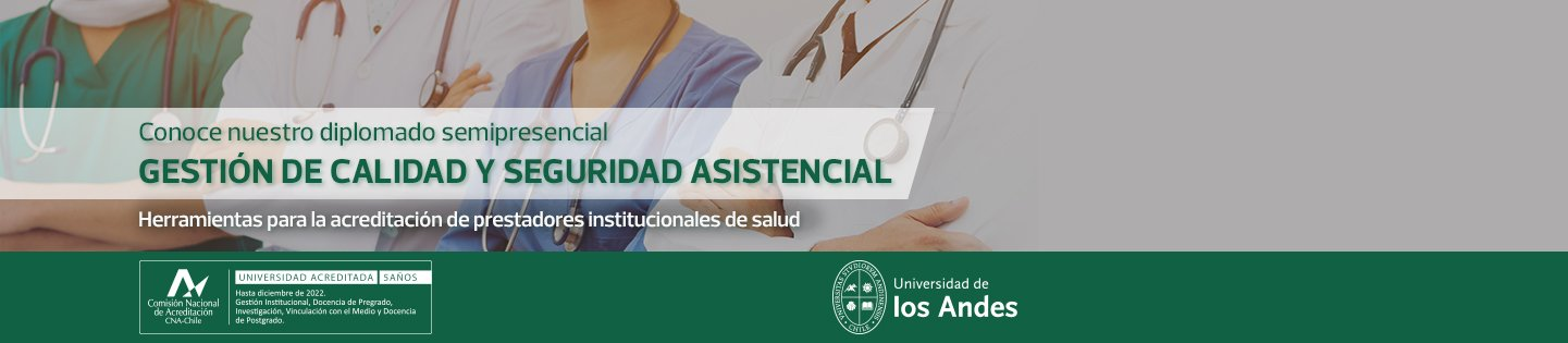 Conoce nuestro Diplomado semipresencial Gestión deOrganización de Salud - Inicio de Clases: Mayo