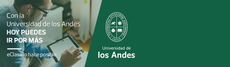 Con la Universidad de los Andes hoy puedes ir por más - eClass lo hace posible